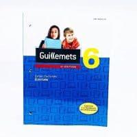 manuel scolaire en écriture guillemets