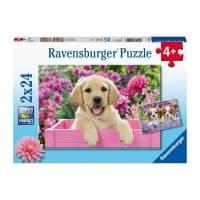 enfants casse-tête jeune chien 24 pièces puzzle