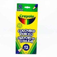 CRAYONS À COLORIER EN BOIS CRAYOLA 12 couleurs
