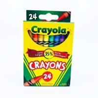 CRAYONS DE CIRE CRAYOLA 24 couleurs