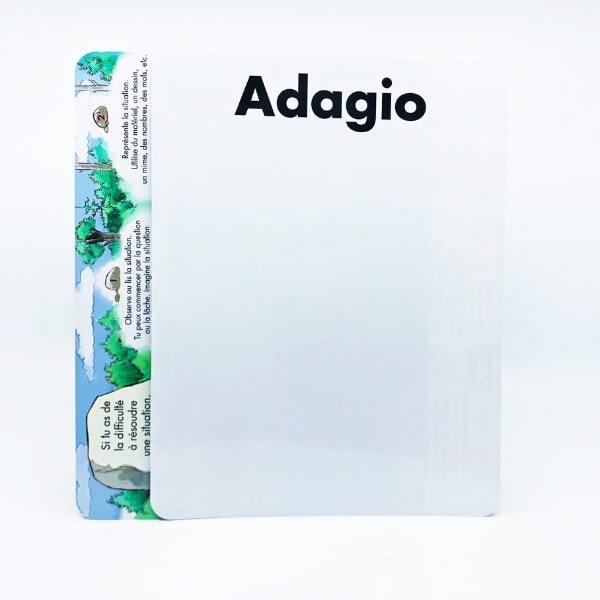 ARDOISE ADAGIO A/B 3e année