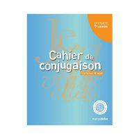 CAHIER DE CONJUGAISON 5e année
